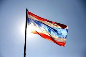 Thailändische Nationalflagge