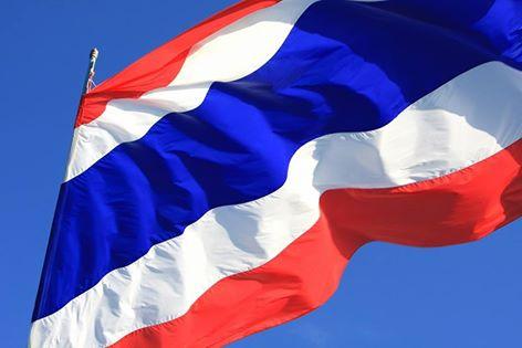Thai Flagge