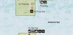 MAP PHI-PHI ISLAND